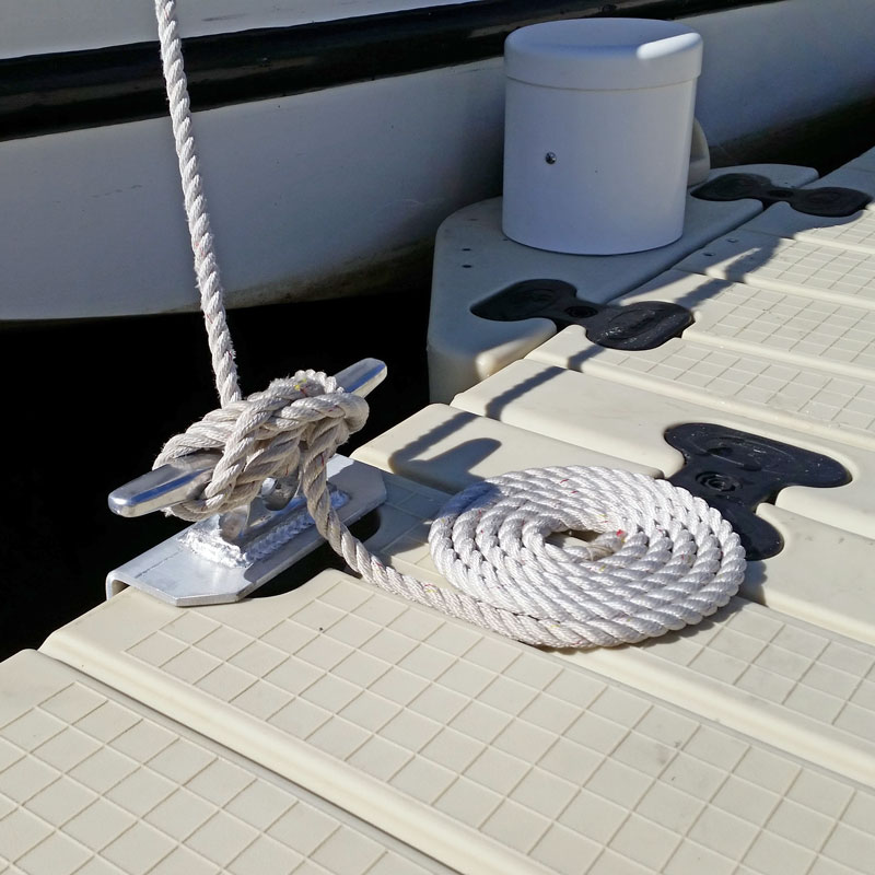 Aluminum Dock Cleat