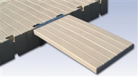 "EZ Dock 54"" PE PLANK GANGWAY KIT- DOCK TO SHORE"