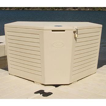 EZ Dock Corner Box With Integrated Corner Gusset