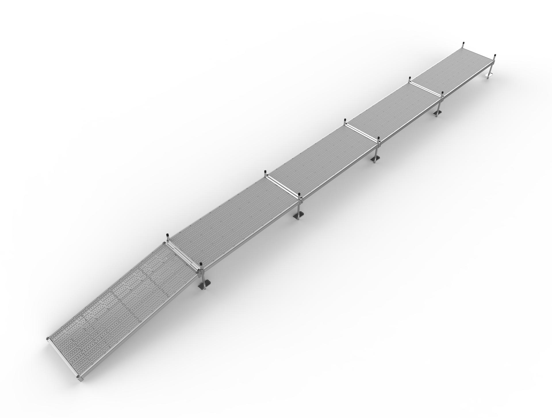 40 ft w- 4x10 ramp