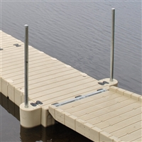 EZ Dock Polyethylene Gangway to Float Kit w/Hinges