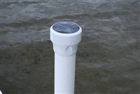 "EZ DOCK SOLAR LIGHT EA. (for 3"" PVC)"