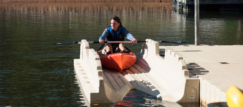 Floating Residential Kayak Boat Launch Systems Ramps Amp Lifts