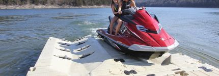 Want to Park Your Jet Ski in Style this Summer? Try our EZ Port PWC Lifts!