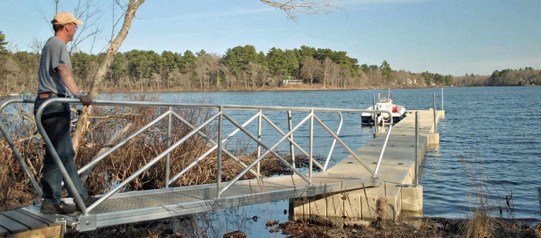 EZ Plastic Floating Docks for Sale | Floating Boat Dock Kits