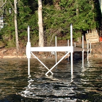 6' Dock Section Cross Bracing